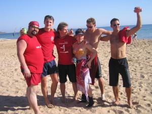 Команда Reds натурнире Алтимутация 2007 (МД, 2/6)