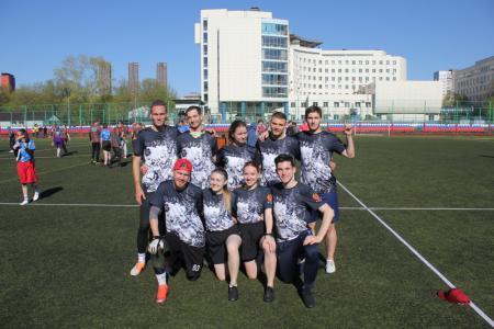 Команда Ре:Диски натурнире МФЛД 2021 (Дивизион 2, 6/12)