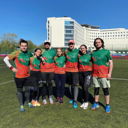 Команда Чили натурнире МФЛД 2021 (Дивизион 2, 9/12)