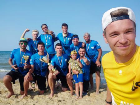 Команда Nova натурнире Ukraine Beach Open 2021 (ОД, 1/6)