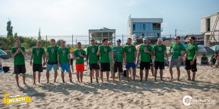 Команда Odessa Ultimate натурнире Ukraine Beach Open 2021 (ОД, 2/6)
