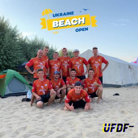 Команда FirePlay натурнире Ukraine Beach Open 2021 (ОД, 5/6)