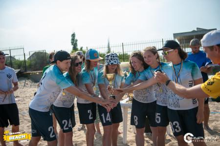 Команда Dyki Krali натурнире Ukraine Beach Open 2021 (ЖД, 1/3)