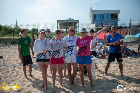 Команда Gamble натурнире Ukraine Beach Open 2021 (ЖД, 2/3)