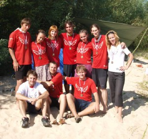 Команда Флаинг Степс натурнире ПЧР 2009 (МД, 2/11)