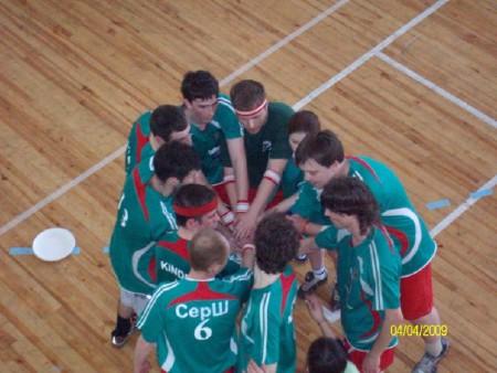 Команда Гринс натурнире Закрытие зального сезона 2008/2009 (ОД, 8/10)