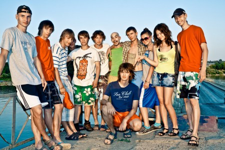 Команда Катюша натурнире ПЧР 2010 (Микс дивизион, 7/8)