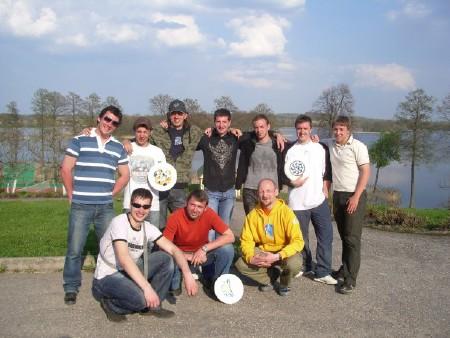 Команда Анклав натурнире ZARAZA 2008 (ОД, 6/11)
