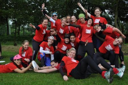Команда Primavera Olandese натурнире Windmill Windup 2012 (ЖД, 5/14)