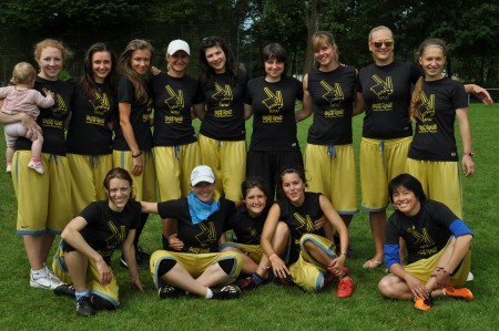 Команда Дикi Кралi на турнире Windmill Windup 2012 (ЖД, 13/14)