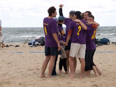 Команда Летающие Мамалыги натурнире ПЧУ 2010 (ОД, 6/8)
