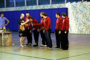 Команда Флайнг Степс - ред натурнире Рождественский турнир 2013 (ОД, 3/19)
