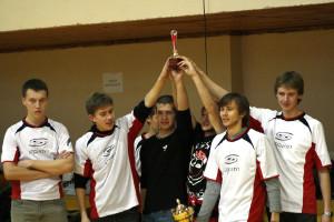 Команда Спинин натурнире Зальный турнир в Бресте 2008 (ОД, 1/10)