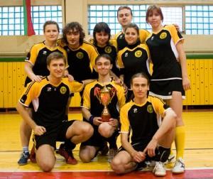 Команда ГУДаГАЙ натурнире Зальный турнир в Бресте 2008 (ОД, 2/10)