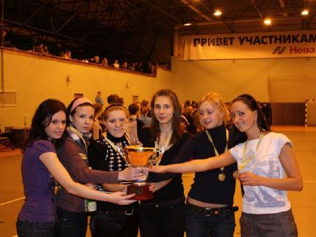 Команда Элвис Пресли натурнире Рождественский турнир 2008 (ЖД, 2/5)