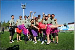 Команда Наса балеринас натурнире МФЛД 2011 (1 дивизион, 2/12)