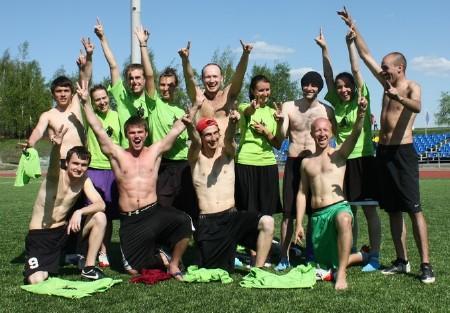 Команда Частная Хирургическая Клиника натурнире МФЛД 2011 (1 дивизион, 3/12)