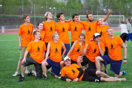 Команда Грязные работы натурнире МФЛД 2011 (1 дивизион, 5/12)