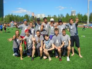 Команда АОЗТ Труба и дым натурнире МФЛД 2011 (2 дивизион, 5/12)