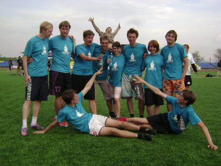 Команда Disque du Soleil натурнире МФЛД 2011 (2 дивизион, 6/12)