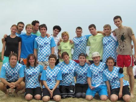 Команда Скай Про натурнире ПЧР 2011 (Микс дивизион, 4/10)