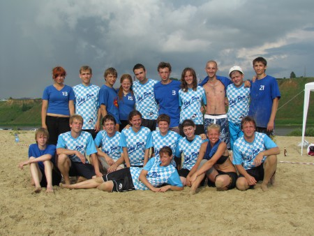 Команда 3F натурнире ПЧР 2011 (Микс дивизион, 6/10)
