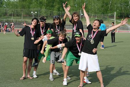 Команда True white horse натурнире МФЛД 2009 (1 дивизион, 2/12)