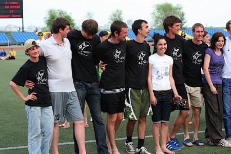 Команда Ядрена мощь натурнире МФЛД 2009 (2 дивизион, 4/12)