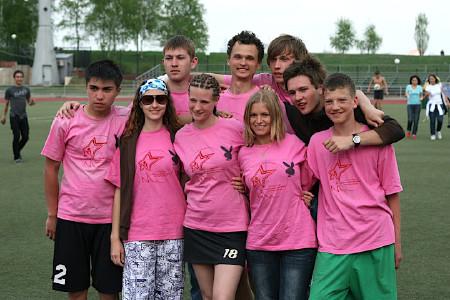Команда Зайчик Тоби 28см натурнире МФЛД 2009 (2 дивизион, 6/12)