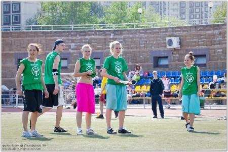 Команда frisbull натурнире МФЛД 2010 (2 дивизион, 5/12)