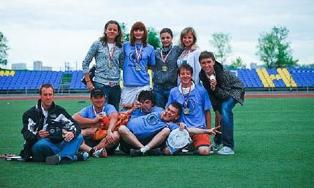 Команда Девышник натурнире МФЛД 2010 (2 дивизион, 8/12)