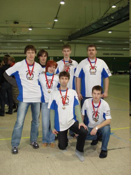 Команда Новгородские медведи натурнире Kick in de Kok 2007 (ОД, 3/23)