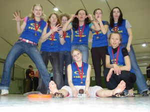 Команда Молодые натурнире Kick in de Kok 2007 (ЖД, 3/8)