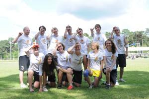 Команда ЮПитер натурнире Mixed Madness 2013 (Микс дивизион, 9/9)