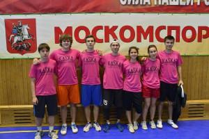 Команда Розовые натурнире Каска 2013 (Микс дивизион, 2/16)