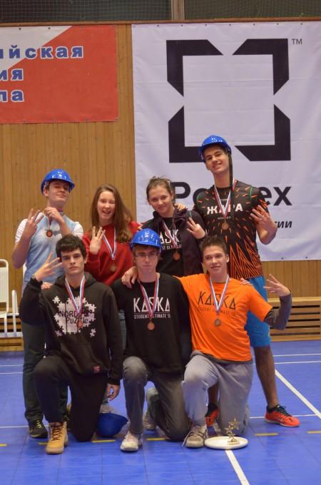 Команда Черные натурнире Каска 2013 (Микс дивизион, 3/16)
