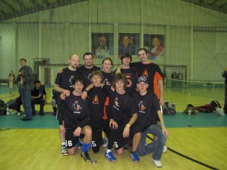 Команда ЮПитер натурнире Конституционный слет 2008 (1 дивизион, 5/12)