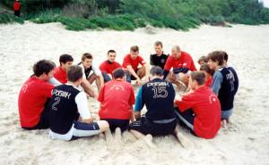 Команда DOLGOROKAS натурнире Jurmalas Bite 2003 (ОД, 2/12)