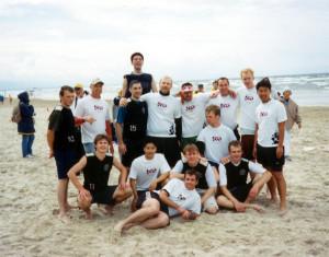 Команда RUBON - II натурнире Jurmalas Bite 2003 (ОД, 11/12)