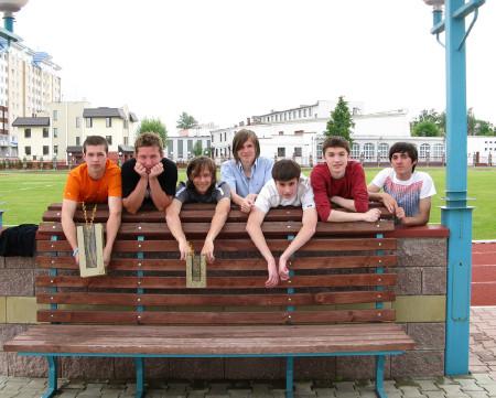 Команда Спинин натурнире Брест без границ 2008 (ОД, 1/11)