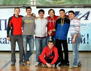 Команда Йошкин кэтс натурнире ЗаПуск 2013 (Open-1, 4/14)