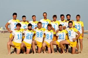 Команда Ukraine натурнире ECBU 2013 (ОД, 4/16)