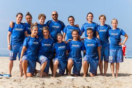 Команда Italy натурнире ECBU 2013 (ЖД, 9/16)