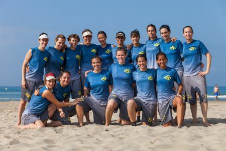 Команда Spain натурнире ECBU 2013 (ЖД, 11/16)