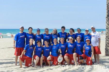 Команда France натурнире ECBU 2013 (WM, 3/4)