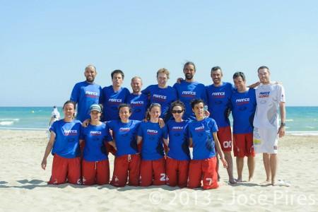 Команда France натурнире ECBU 2013 (Микс мастерс, 3/6)