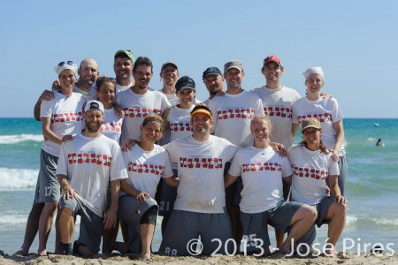 Команда Austria натурнире ECBU 2013 (Микс мастерс, 4/6)