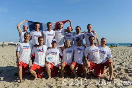 Команда France натурнире ECBU 2013 (Гранд мастерс, 1/4)