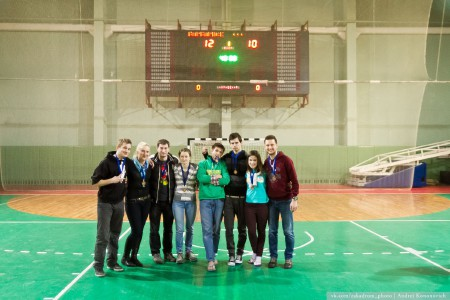 Команда Ціхая прАдЛЁнка натурнире Капялюш 2014 (Микс дивизион, 3/6)
