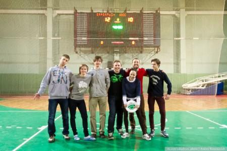 Команда Жувкі натурнире Капялюш 2014 (Микс дивизион, 6/6)